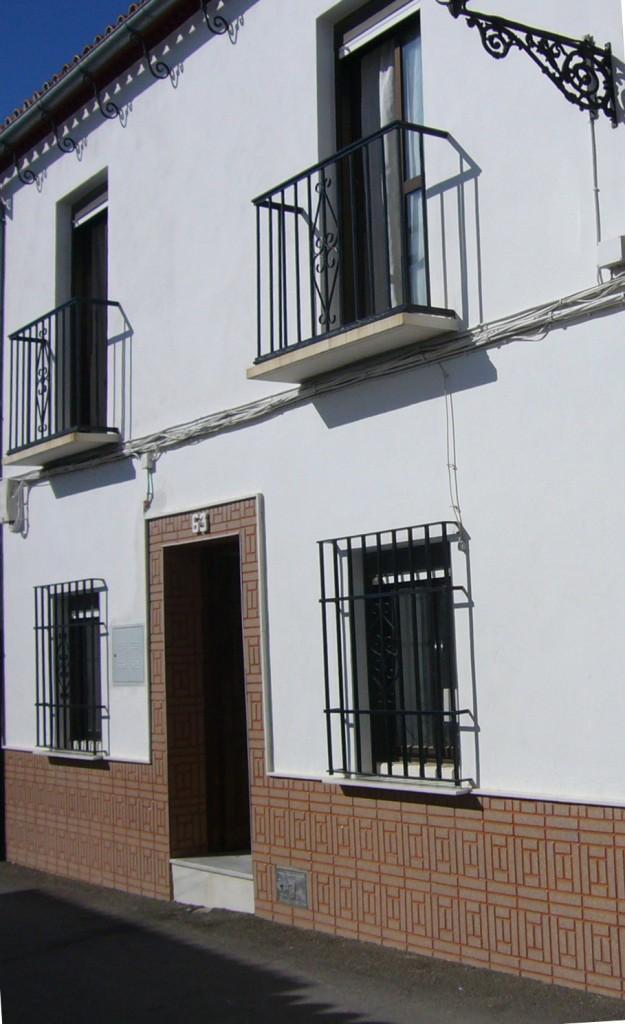 Byhus i to etager